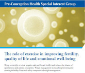 Image of The role of exercise in improving fertility, quality of life and emotional well-being fact sheet
