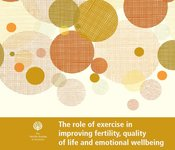 Image of The role of exercise in improving fertility, quality of life and emotional wellbeing factsheet