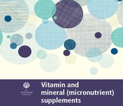 Image of Vitamins and mineral (micronutrient) supplements factsheet