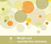 Image of Weight and reproductive outcomes factsheet