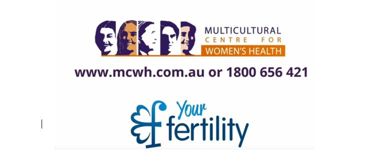 Image of MCWH and Your Fertility logo
