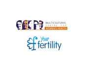 Image of MCWH and Your Fertility logos